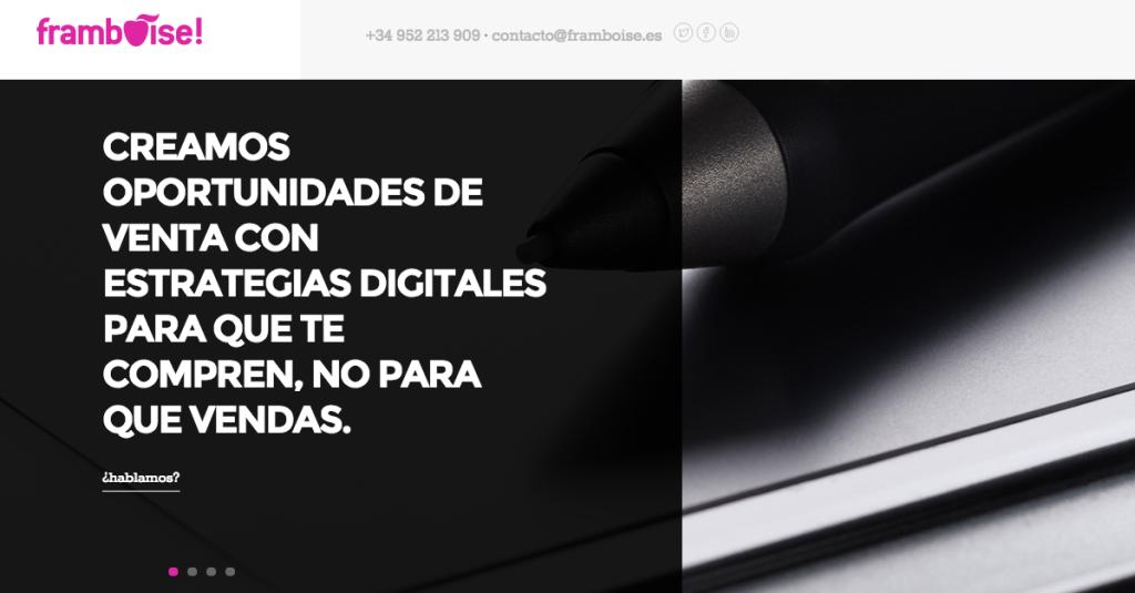 Framboise - Spain - Digital Agency