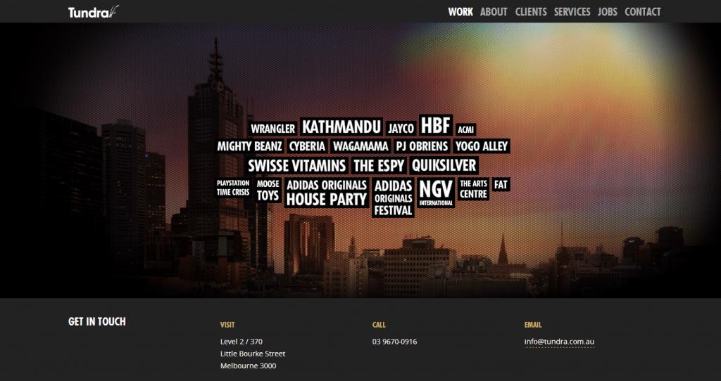 Tundra Interactive  Digital Agency Melbourne