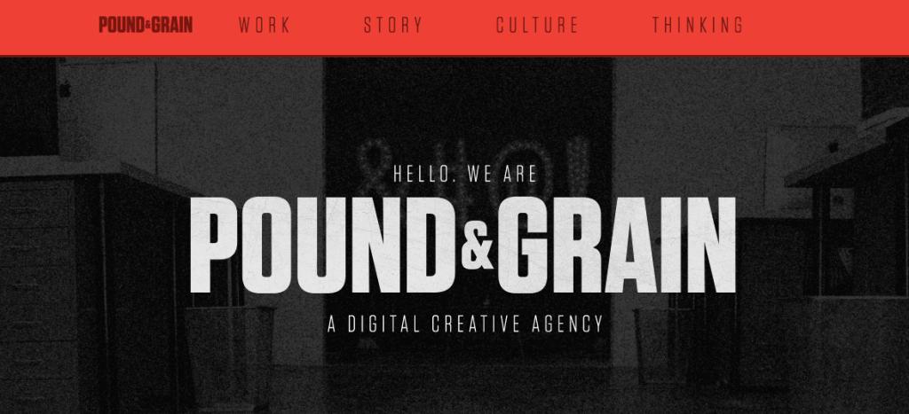 Pound Grain - Digital - Agency - Toronto