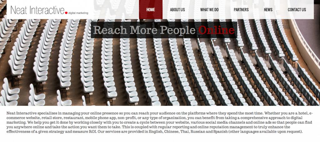 Neat-Interactive-Website
