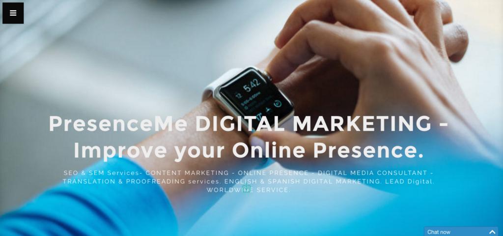 Presence Me - Spain - Agency - Digital